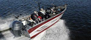 Starcraft fishing boat open water